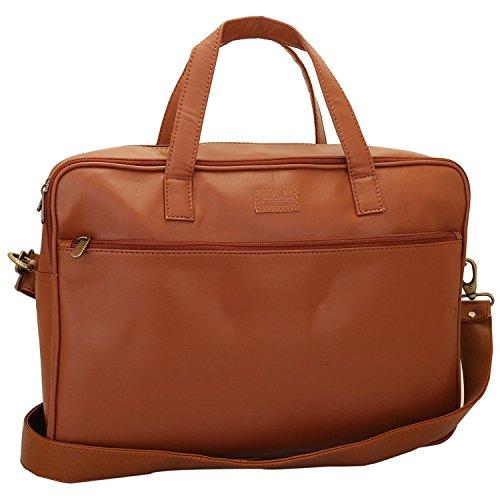 Lapis O Lupo Apricot Unisex Laptoptasche Tan Designer Schulranzen Taschen mit Multi Pocket