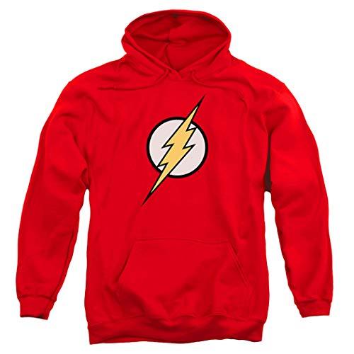 Popfunk The Flash Pull-Over Hoodie Sweatshirt (X-Large) Red