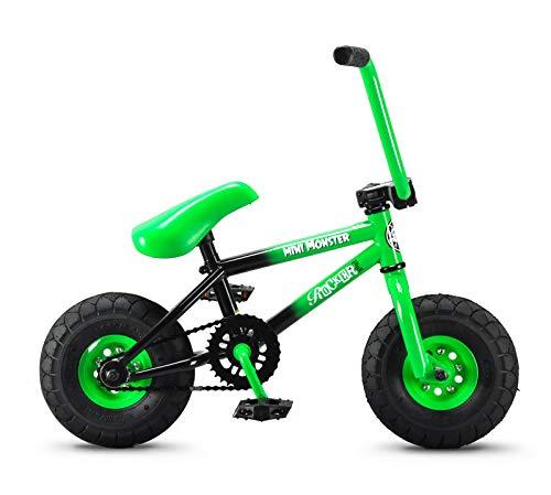 (Rocker BMX Mini BMX Bike iROK+ Mini Monster Green RKR)