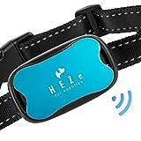 HEZe Dog Bark Collar- Humane Sound & Vibration-No Shock bark Collar-2019 (Blue) For Sale