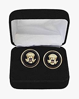 presidential seal cuff links with gift box amazoncom white house oval office