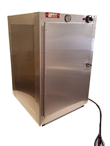 HeatMax Commercial 19x19x29 Hot Box Food Warmer, Pizza Wa...