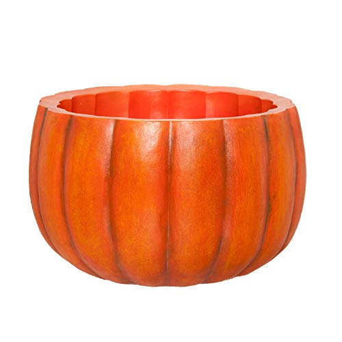 PINE AND PAINT LLC Pumpkin Bowl Planter Drink
