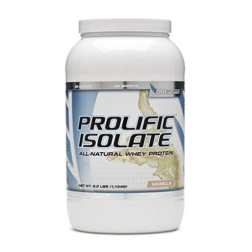 STI G6 Sports Prolific Isolate Whey Protein – Vanilla 2.5 lbs.