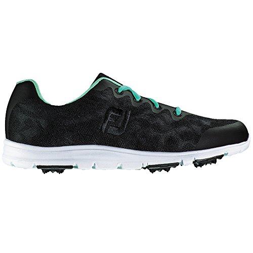 FootJoy Womens Enjoy Golf Shoes Wide Black jobIWuqNs8
