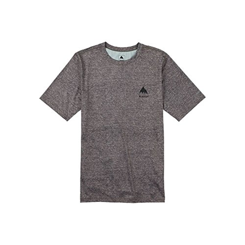 Burton Men's Lightweight Tee, Monument Heather, X-Large (Mens Tucking Underwear)