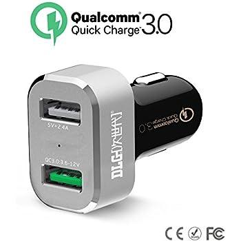 Amazon.com: USB tipo C Cargador de Coche, V10: MP3 Players ...