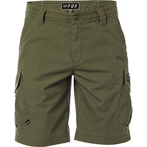 Fox Men's Slambozo Cargo Shorts - Olive Green - 19043-099 (Olive Green - 42)