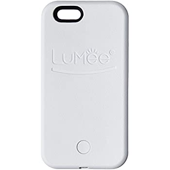 LuMee, Illuminated Cell Phone Case for iPhone 6s - White