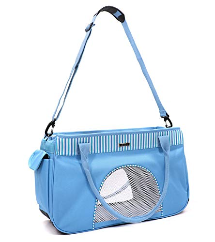 Pet Carriers,Collapsible Soft Sided Pet Travel Carrier for Dogs and Cats up to 10-15 pound
