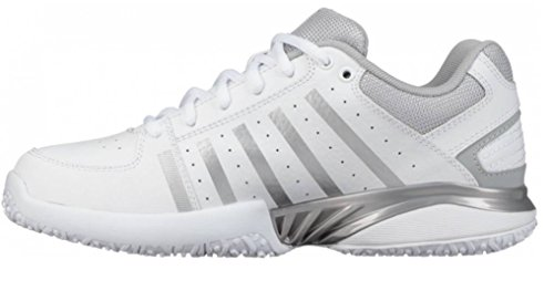 Swiss Tennis Women's K White White Shoes 95645107m Highrise 01 Performance TvnqUxwP