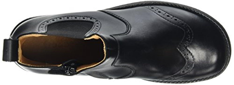 Froddo Unisex Kids' Chelsea G3160061 Ankle Boots, Black (Black), 7.5 Child UK 25 EU