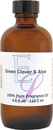 (Green Clover and Aloe Fragrance Oil, 4 oz)