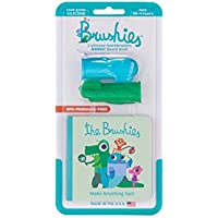 The Brushies Baby & Toddler Toothbrush Set, Chomps & Willa (Pack of 2)