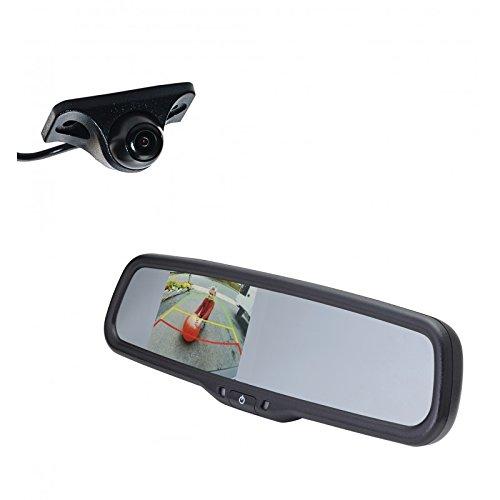 EchoMaster K503R Car Backup camera kit includes UNDER LIP MO