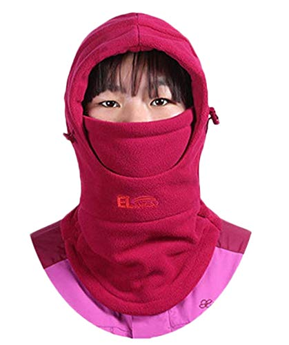 Price comparison product image ZZLAY Children's Balaclavas Hat Thick Thermal Windproof Ski Cycling Face Mask Caps Hood Cover Adjustable Cap