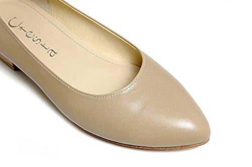 Women JP 21 Pointed 5 Low Leather 150 Womens US 5 169 4 20 Ciesta { Blue } 2 heeled Pumps PqOnU5