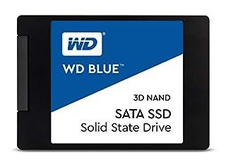 "WD Blue 3D NAND 500GB Internal PC SSD - SATA III 6 Gb/s, 2.5""/7mm, Up to 560 MB/s - WDS500G2B0A (B073SBZ8YH)   Amazon price tracker / tracking, Amazon price history charts, Amazon price watches, Amazon price drop alerts"