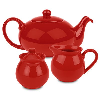 Waechtersbach Fun Factory Tea Set, Red ()