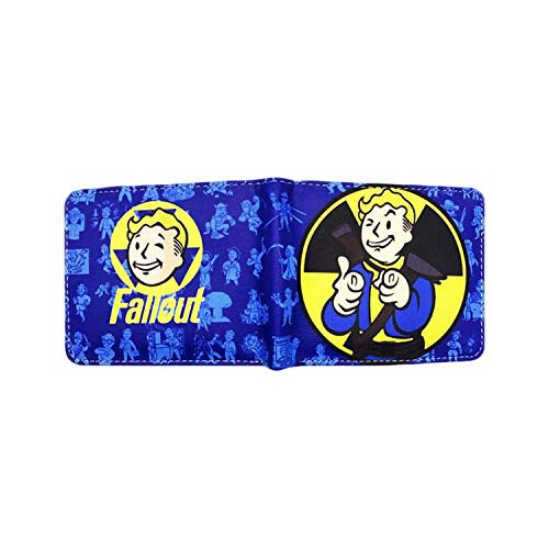 Fallout Game Gaming Mens Boys Comic Cartoon Wallet with Gift -