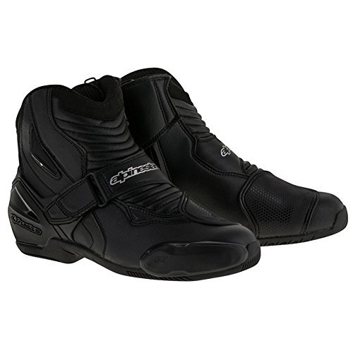 Alpinestars SMX-1R Mens Motorcycle Boots - Black - 45