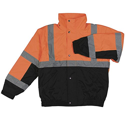 ERB 61606 S106 Class 2 Bomber Jacket, Orange and Black, ()