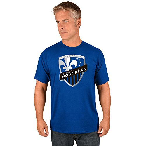 fan products of Montreal Impact MLS Men's Team Logo T-Shirt (XX-Large)