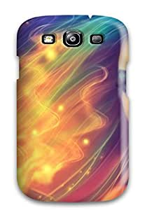 Hot Selling Tpu Cover Case For Galaxy/ S3 Case Cover Skin - Colorful Fantasy Woman Women Abstract Fantasy
