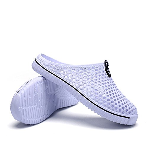 Out Sandal Shoes Casual Flip Outdoor New Breathable Beach Shoe Hollow Flops Hibote Couples Unisex Summer Sport White Shoes Slippers I6qTPn1
