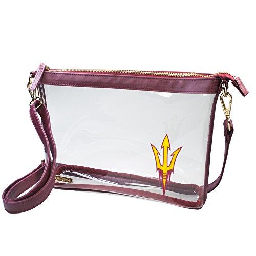 - Capri Designs Clear Large Crossbody Bag Stadium Approved - ASU Sun Devils