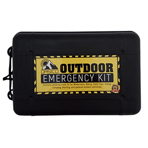 Dasico Emergency Survival Kit Ultimate Tactical Tools for Wilderness Activities Keep Yourself Safe in Extreme Outdoor Situation