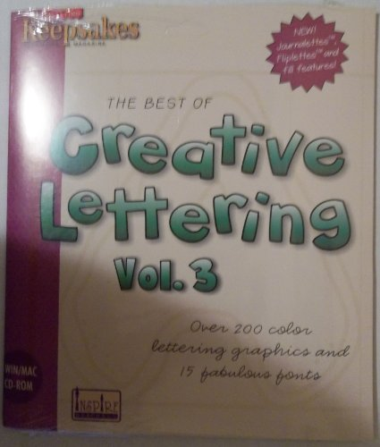 The Best of Creative Lettering: Lettering for Scrapbooking, Cards, Signs and More!: 3 ()