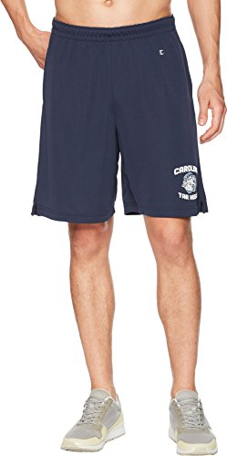 Champion College Men's North Carolina Tar Heels Mesh Shorts Navy Medium 8 -