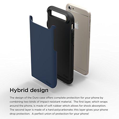 more photos 70cb0 f9eb7 iPhone 6S Case, elago [Duro][Matte Black / Jean Indigo] - [Premium ...