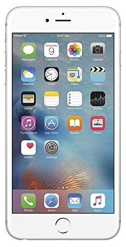 Apple iPhone SE, GSM Unlocked, 16 GB - Silver (Renewed) ()