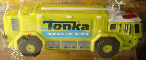 "AIRPORT FIRE RESCUE Tonka Metal Diecast Bodies 6"" Rescue Rig -"