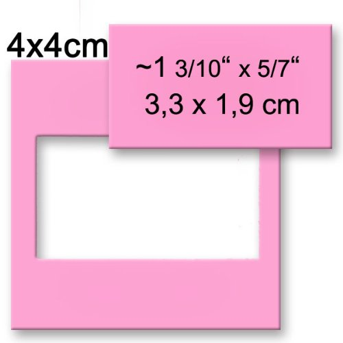Efco Perforatrice Rectangle, Rose, 33 x 18 mm 33x 18mm 1793008