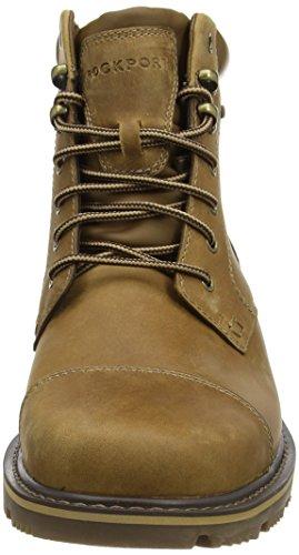 RockportGB CAP MID W/P - botas de combate sin forro, caña corta Hombre Marrón - Braun (STRAW)