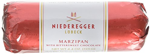 Niederegger Marzipan Chocolate Covered Loaf, 4.4 0z (125G)