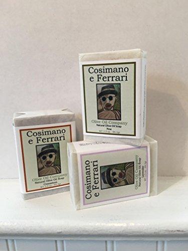 Cosimano & Ferrari Natural Olive Oil Bar Soap - - Bar Ferrari