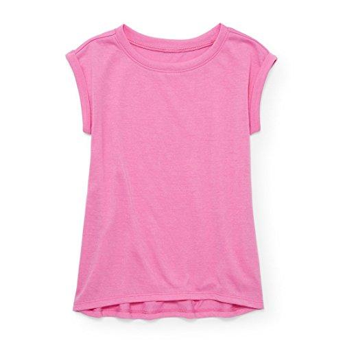 The Children's Place Big Girls' Sleep Shirt, Pink Blast, M (7/8)