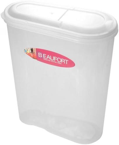Beaufort envase de alimento Cereal / Pienso para 5L Borrar: Amazon.es: Hogar