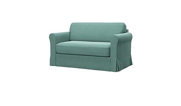 Soferia - IKEA HAGALUND Funda para sofá Cama, Elegance Mint ...