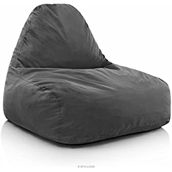Amazon Com Big Joe Lux Imperial Lounger In Union Gray