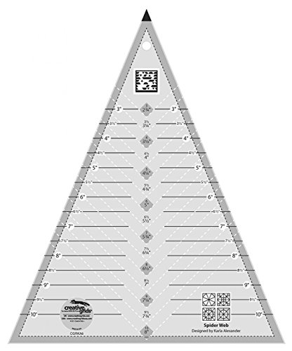 quilting slotted ruler - 8
