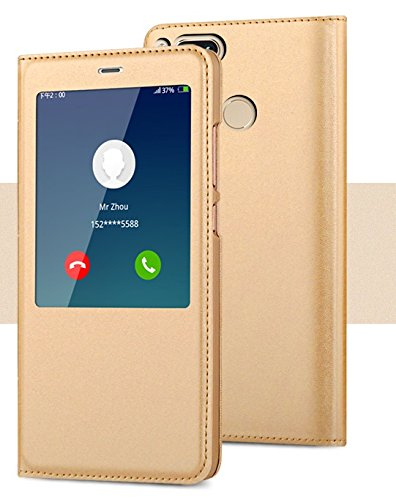 on sale 082cc d6a79 ikazen Smart S View Window Sensor Working Flip Cover for Xiaomi Redmi Mi  A1(Gold)
