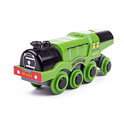 Bigjigs Rail Flying Scotsman Battery Operated Engine - Other Major Rail Brands are Compatible: Toys & Games
