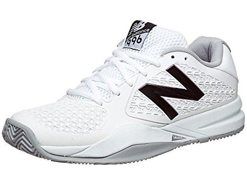 New Balance Women's 996v2 Lightweight White Tennis Shoe -...