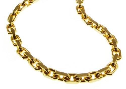 Bracelet chaîne ancre 3mm-21cm-585or jaune