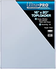 """Ultra Pro 16"""" X 20"""" Toploader 10ct - One Size, One Color"""